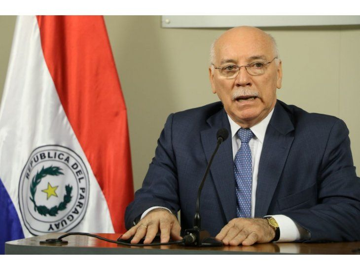 El canciller paraguayo, Eladio Loizaga se refirió al caso de Darío Messer y al de Aña Cuá. Foto: Gentileza
