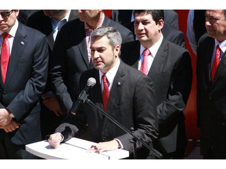 El líder del movimiento Colorado Añetete, Mario Abdo Benítez. Foto: Gentileza.