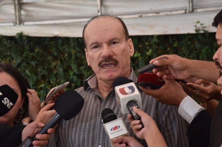 Bernardino Soto Estigarribia. ministrode Defensa Foto: Raúl Cañete