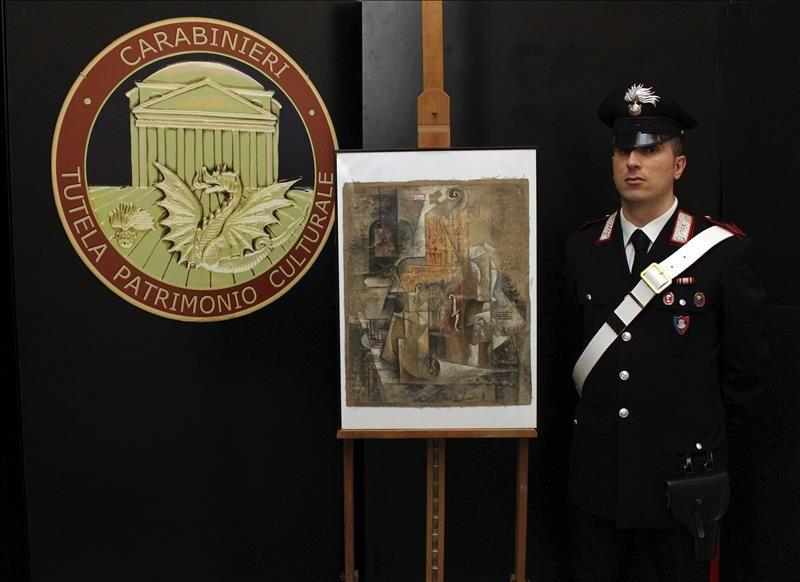 Italia recupera un Picasso de 15 millones con el que pagaron a un ...