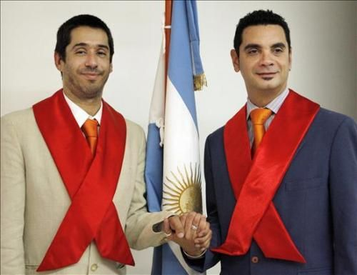 Casamiento homosexual en argentina