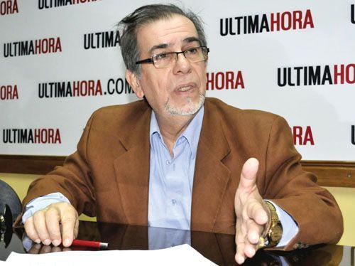 Juan C. Ramírez M. TitularIndert 2013.3.809 millones de guaraníes declaró como patrimonio neto en el año 2013