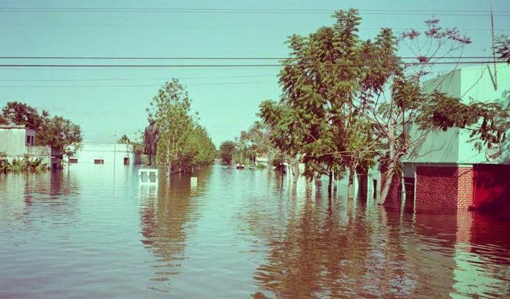 Resultado de imagen para fotos de la ciudad de pilar en la última inundación