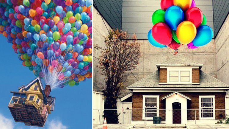 La casa en Seattle que inspiró la película Up