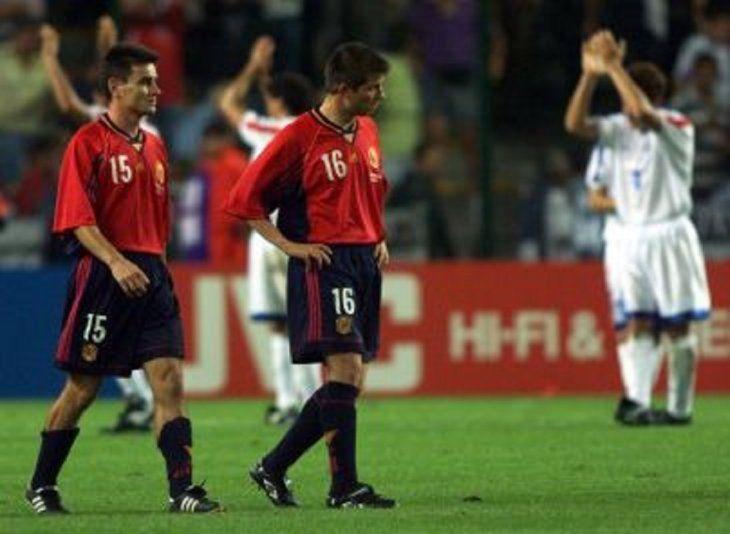 España llegó como favorita y se eliminó en la primera ronda. <br>