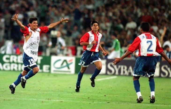 Miguel Ángel Benítez marcó el gol de la esperanza ante Nigeria. <br>