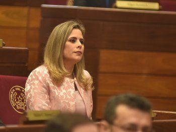 La diputada Kattya González celebró la destitución del ministro de la Corte Suprema de Justicia Sindulfo Blanco.