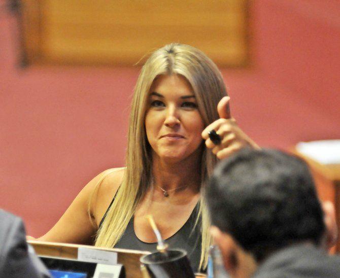 Cynthia Tarragó y su marido fueron acusados de blanqueo de dinero.