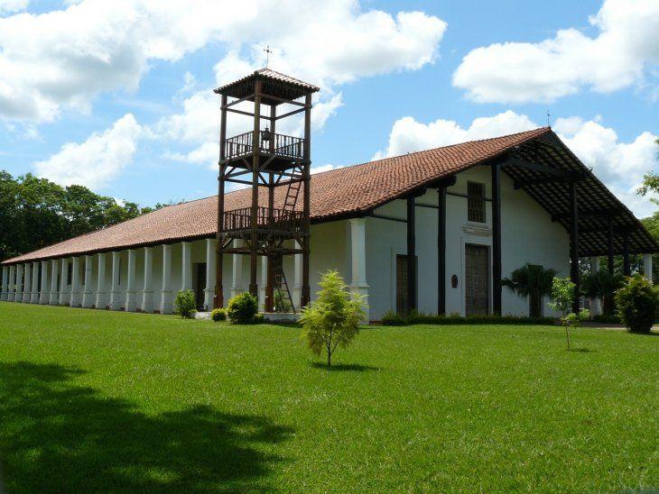En cada Viernes Santo, la peregrinación inicia a tempranas horas en la histórica iglesia de San Buenaventura de Yaguarón.