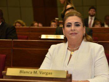 A la diputada colorada Blanca Vargas no le gusta que la vinculen con su hermano.