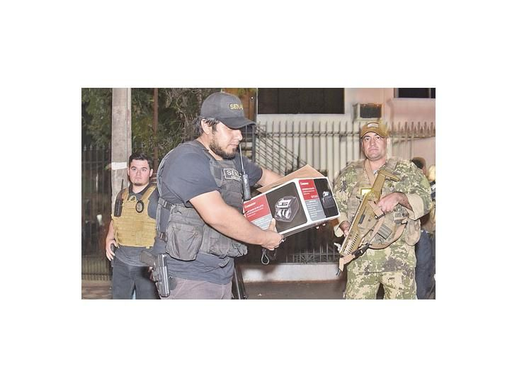 Detuvieron a un narco en la casa de un ex Vélez