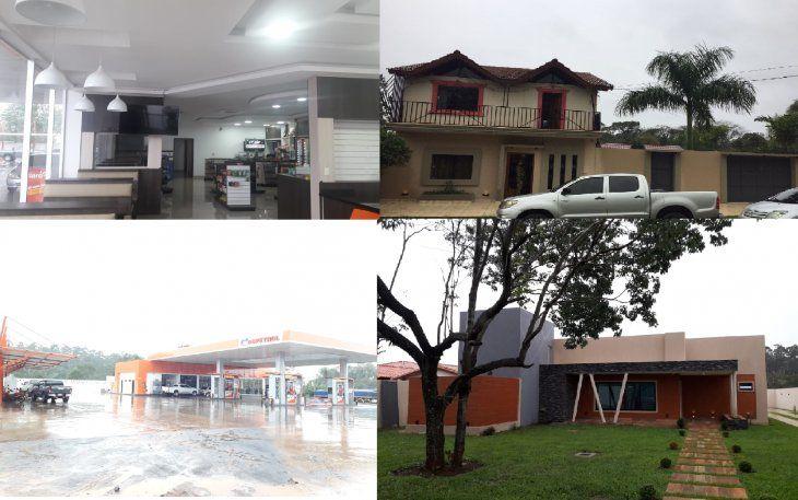 La Fiscalía y la Secretaría Nacional antidrogas realizaron varios allanamientos en las propiedades.