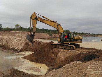 Trabajos.  Hace unos días el MOPC permitió el ingreso del agua al canal paraguayo.