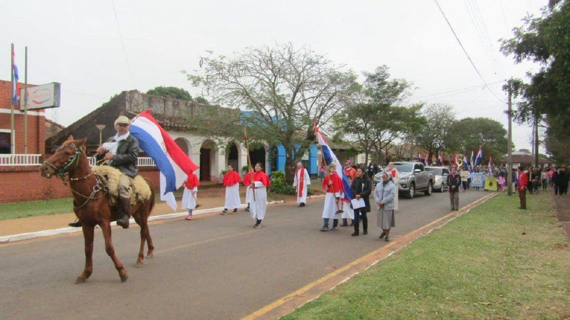 Fiesta patronal en Santiago Misiones