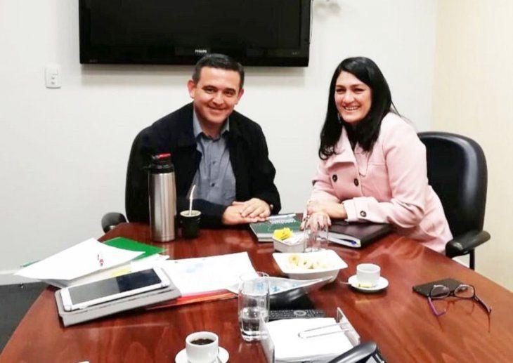 Ministro. Petta fue anunciado como ministro de Educación y Nancy Ovelar como viceministra.