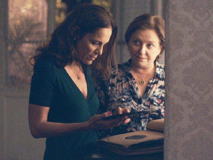 Ana Brun y Ana Ivanova, durante una escena de Las Herederas.
