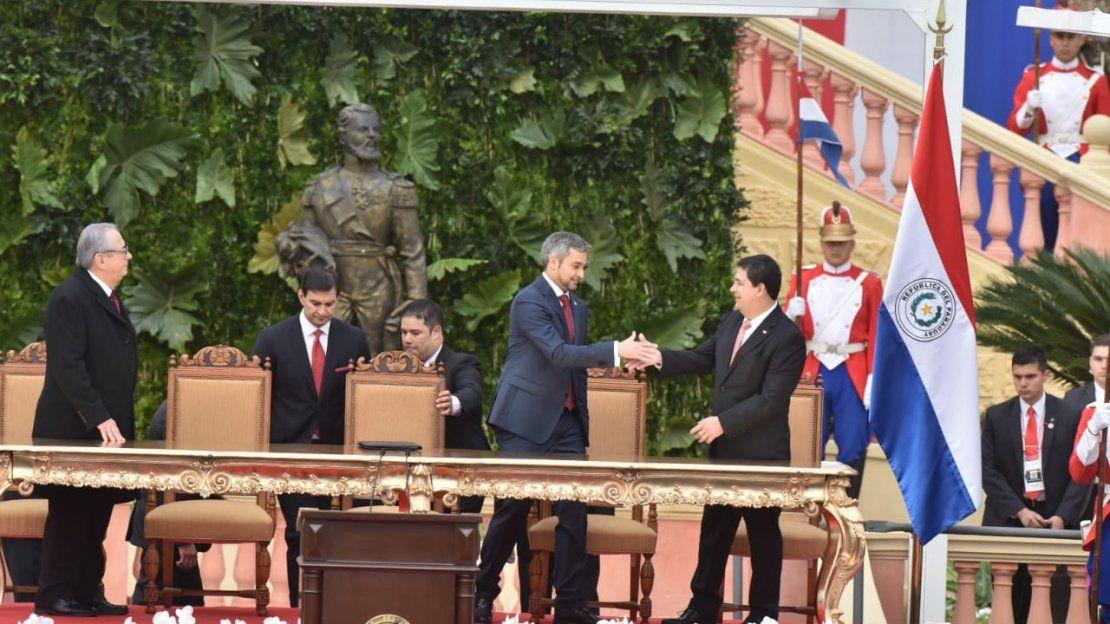Mario Abdo Benítez es el nuevo presidente del Paraguay