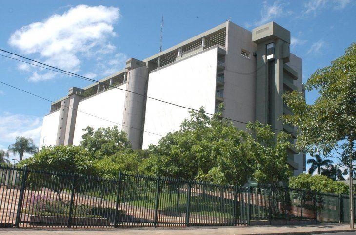 Fachada del Banco Central del Paraguay (BCP).
