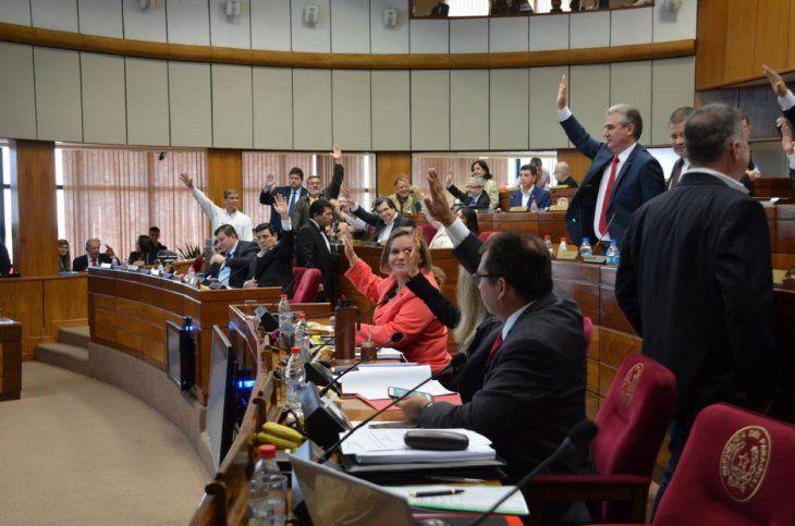 La Cámara de Senadores aprobó el proyecto de ley Anita este jueves en sesión ordinaria.