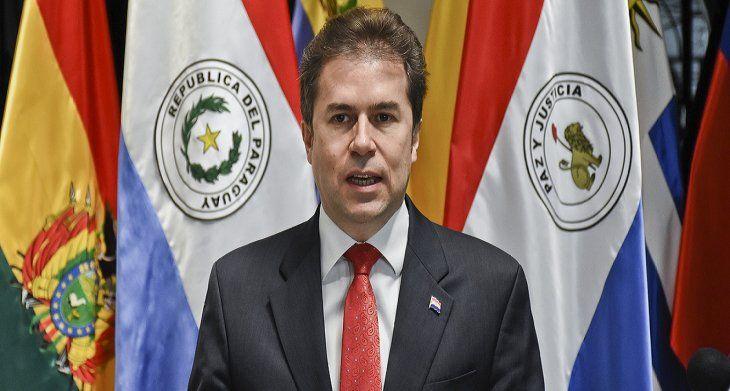 El canciller Luis Castiglioni anunció que Turquía abrirá su Embajada en Paraguay.