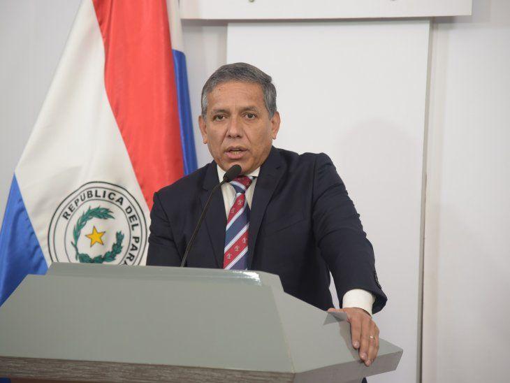 Carlos Amarilla no quiso confirmar su designación como consejero en Itaipú.