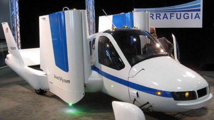La preventa del primer auto volador comenzará en octubre