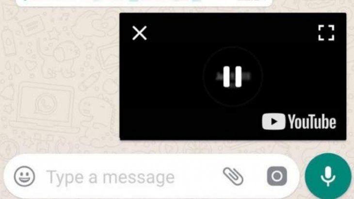 El modo PiP permite visualizar vídeos de otras plataformas dentro del mismo chat.