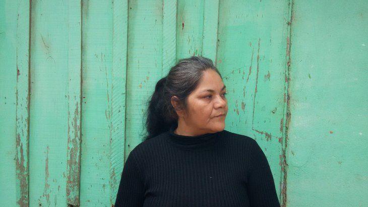 Apolonia Flores lleva las marcas de la dictadura en el cuerpo.