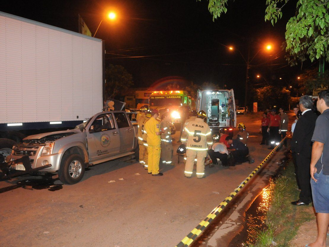Funcionario del Senave fallece en accidente