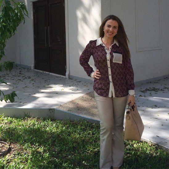 Claudia Scavone ya tuvo participación en varias películas nacionales.