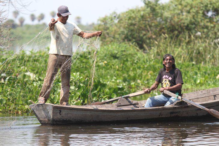 La pesca es la principal actividad económica de los yshir en Karcha Bahlut.