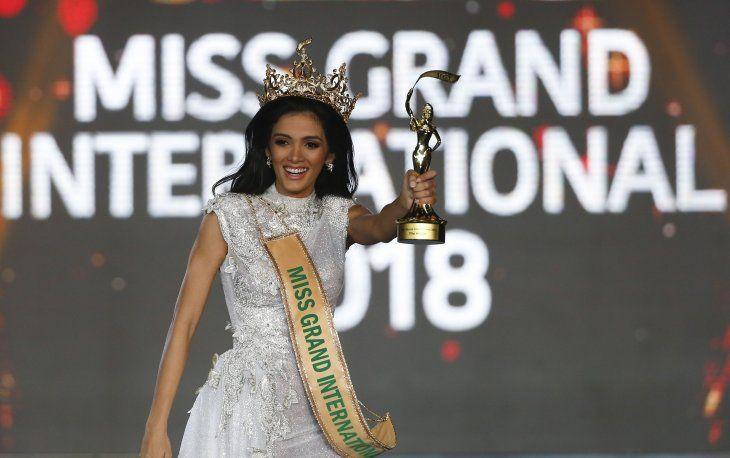 La representante de Paraguay