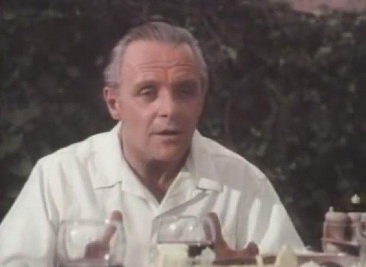La guerra de un hombre fue la primera película de Anthony Hopkins tras ganar un Oscar.