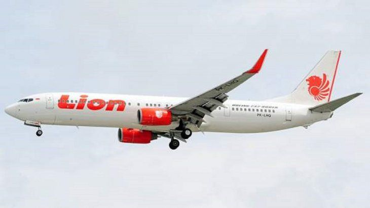 Un Boeing 737 con 188 personas se estrella en Indonesia