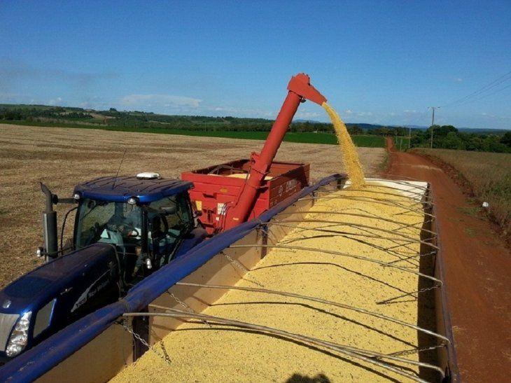 El Senado aprobó el tratamiento del proyecto de ley que grava la exportación de soja.