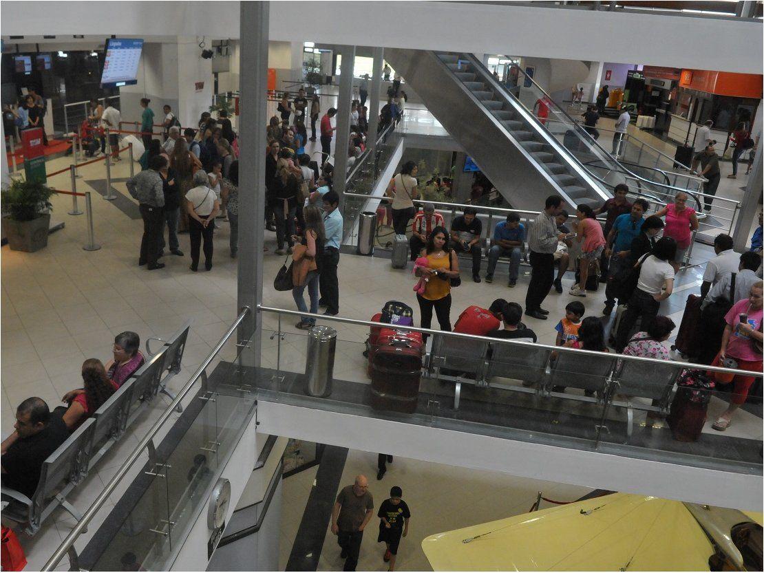Falsa alarma de asalto en el aeropuerto Silvio Pettirossi