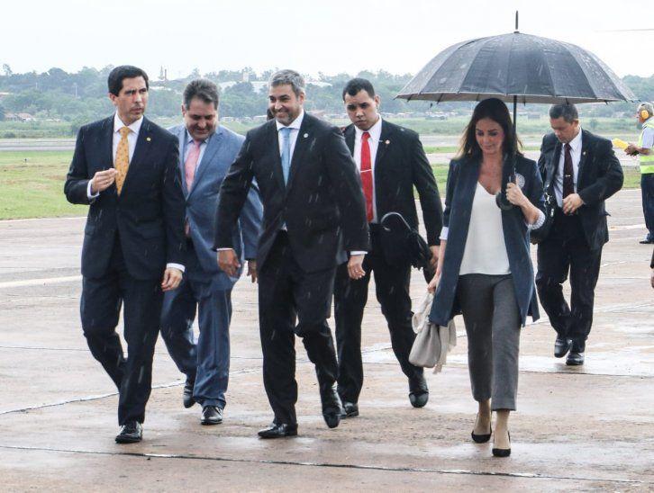 El Papa recibe en audiencia al presidente de Paraguay