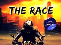 La novela juvenil The Race está disponible en Amazon.