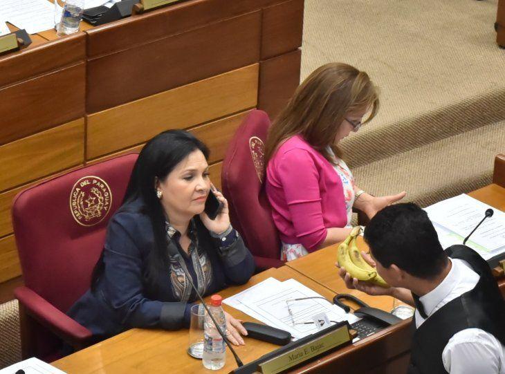 María Eugenia Bajac fue expulsada del Senado.