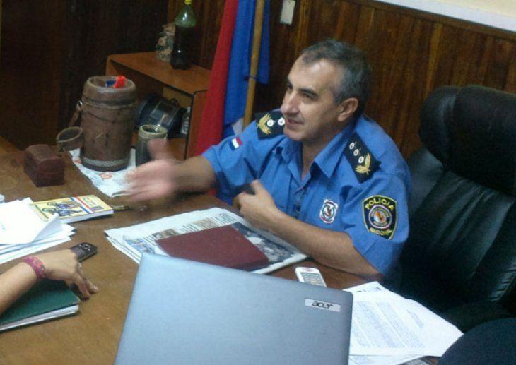 El subcomandante de la Policía Nacional