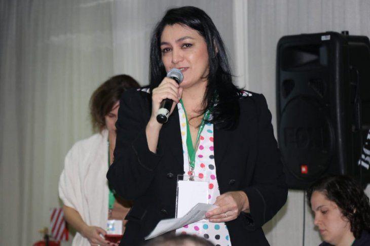 La viceministra de Educación