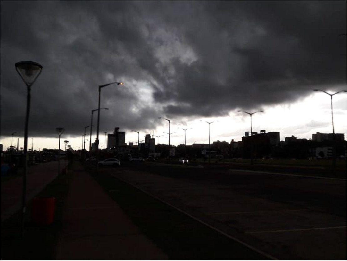 Alerta de tormentas eléctricas para nueve departamentos