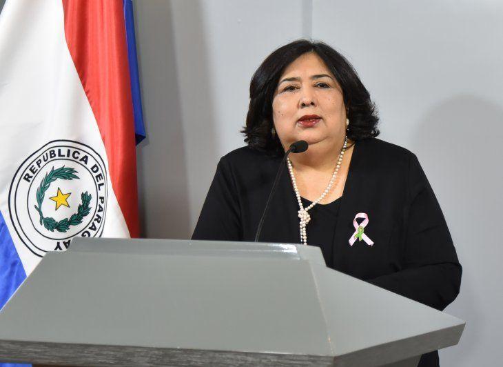 Teresa Martínez, ministra de la Niñez, pide mayor atención de los municipios ante situación de vulnerabilidad de niños.