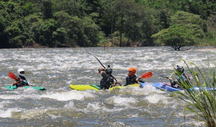 Condiciones. El río es inmejorable y podría constituirse en un atractivo turístico en la zona.