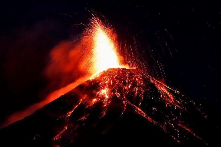 Guatemala: Volcán de Fuego comienza su quinta erupción del 2018