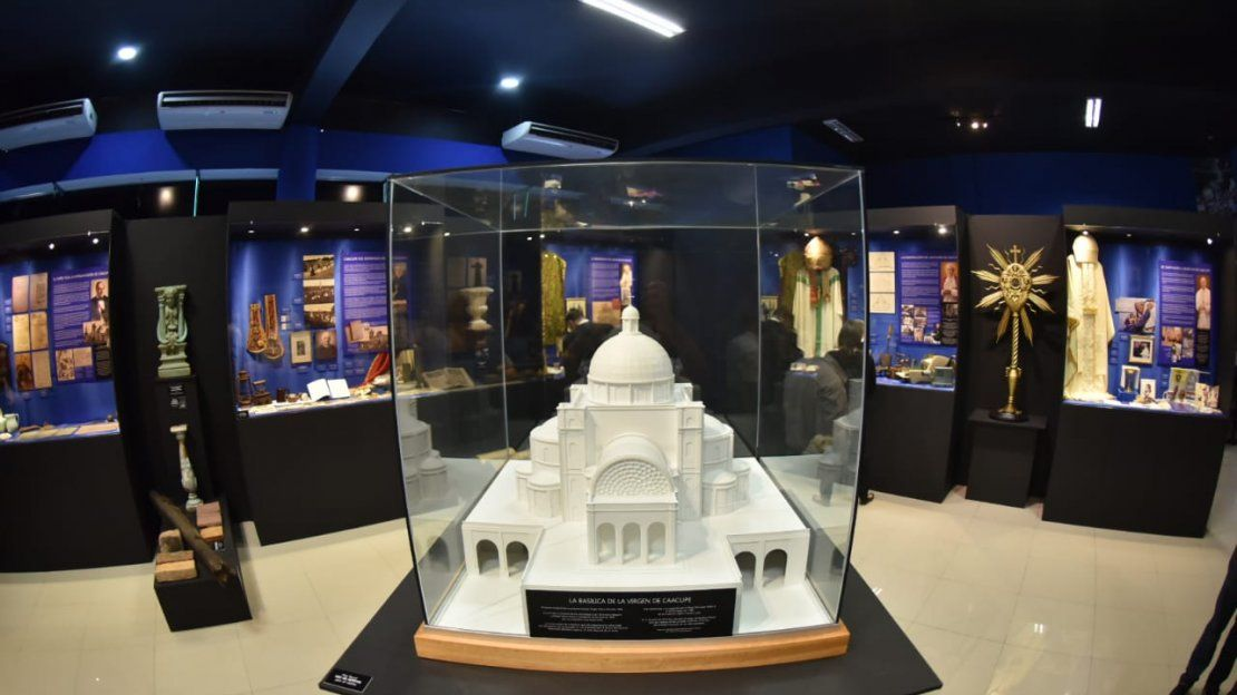 Inauguran museo de la Basílica de Caacupé