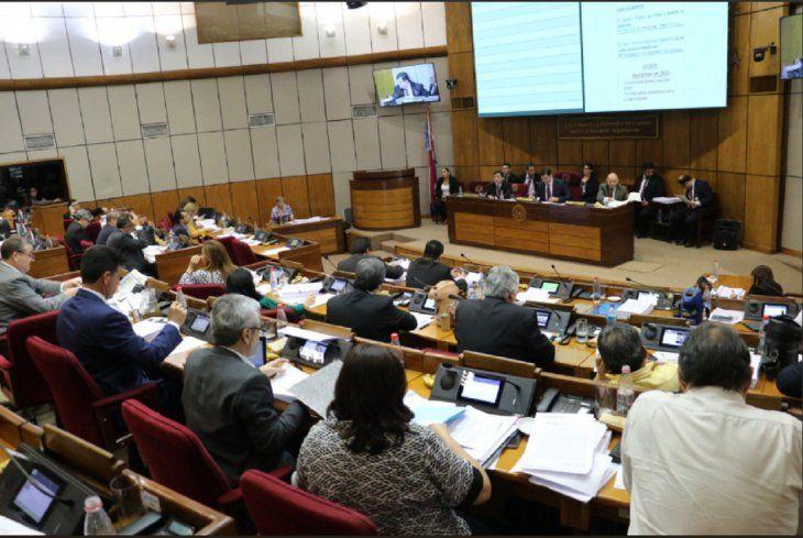 La Cámara de Senadores se reunió este jueves para estudiar el Presupuesto General de la Nación (PGN) 2019.