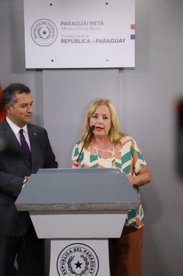 Ana María Allen renunció al Indi tras la presión de los indígenas.
