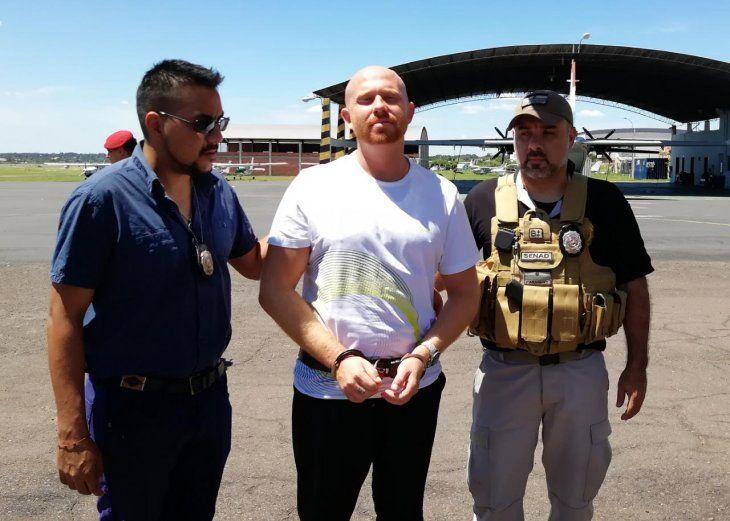 El hombre logró escaparse de la Policía de Israel en suelo brasileño