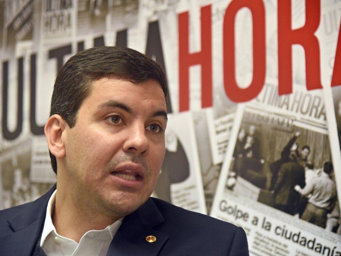 Santiago Peña asegura que no pujará por la Intendencia de Asunción